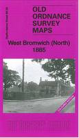 West Bromwich (North) 1885: Staffordshire 68.06a - Old Ordnance Survey Maps of Staffordshire (Sheet map, folded)