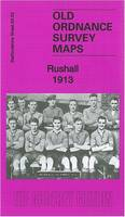 Rushall 1913: Staffordshire Sheet 63.03 - Old Ordnance Survey Maps of Staffordshire (Sheet map, folded)