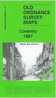 Coventry 1887: Warwickshire Sheet 21.12a - Old Ordnance Survey Maps of Warwickshire (Sheet map, folded)