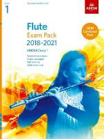 Flute Exam Pack 2018-2021, ABRSM Grade 1: Selected from the 2018-2021 syllabus. Score & Part, Audio Downloads, Scales & Sight-Reading - ABRSM Exam Pieces (Sheet music)