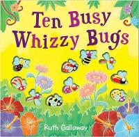 Ten Busy Whizzy Bugs - Moulded Counting Books