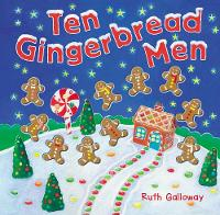 Ten Gingerbread Men - Moulded Counting Books