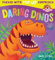 Daring Dinos - Peek-a-Boo Pop-ups