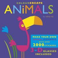 Colour Create: Animals (Hardback)