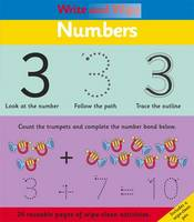 Write and Wipe: Numbers (Spiral bound)