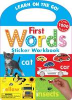 First Words Sticker Workbook - Learn on the Go (Paperback)