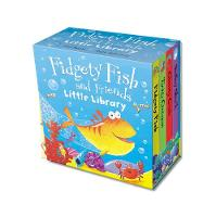 Fidgety Fish and Friends - Little Library - Mini Libraries