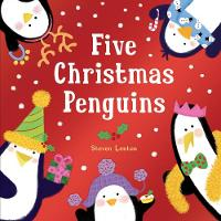 Five Christmas Penguins (Board book)
