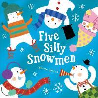 Five Silly Snowmen (Board book)