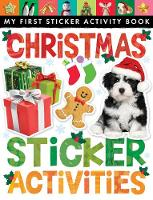 Christmas Sticker Activities (Paperback)