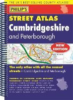 Philip's Street Atlas Cambridgeshire and Peterborough (Spiral bound)