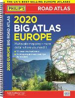Philip's Big Road Atlas Europe: Spiral A3