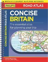Philip's Concise Atlas Britain: Spiral A5 - Philip's Road Atlases (Paperback)