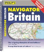 Philip's Navigator Britain Easy Use Format - Philip's Road Atlases (Spiral bound)