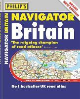 Philip's Navigator Britain: (Flexiback) - Philip's Road Atlases (Paperback)