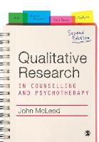 Qualitative Research in Counselling and Psychotherapy (Paperback)