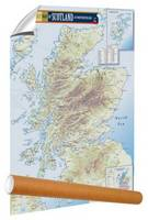 The Malt Whisky Map of Scotland and Northern Ireland (Sheet map, rolled)