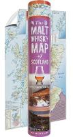 The Malt Whisky Map of Scotland (in a tube) (Paperback)