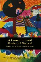A Constitutional Order of States?: Essays in EU Law in Honour of Alan Dashwood (Hardback)
