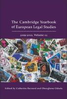 Cambridge Yearbook of European Legal Studies: v. 12 - Cambridge Yearbook of European Legal Studies (Hardback)