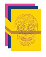 Day of the Dead Set of 3 A6 Notebooks
