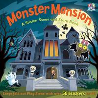 Monster Mansion - Sticker Story Activity Books