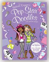 The Fashion Expert's Pop Star Doodles (Paperback)