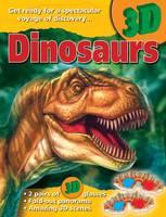 3D Books Dinosaurs (Paperback)