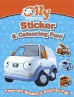 Olly's Sticker & Colouring Book