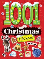 1001 Christmas Stickers - 1001 Stickers (Paperback)