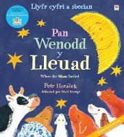Llyfr Cyfri a Sbecian: Pan Wenodd y Lleuad / When the Moon Smiled (Paperback)
