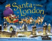 Santa is Coming to London (Hardback)