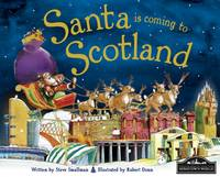 Santa is Coming to Scotland (Hardback)