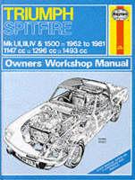 Triumph Spitfire Mk.1, 2, 3, 4 & 1500 1962-81 Owner's Workshop Manual
