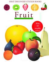 Fruit - First Discovery Sticker Books (Paperback)