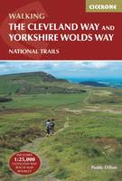 The Cleveland Way and the Yorkshire Wolds Way: Includes 1:25,000 Cleveland Way route map booklet (Paperback)