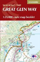 The Great Glen Way Map Booklet: 1:25,000 OS Route Mapping (Paperback)