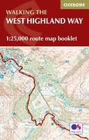 West Highland Way Map Booklet: 1:25,000 OS Route Mapping (Paperback)