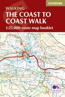 The Coast to Coast Map Booklet: 1:25,000 OS Route Map Booklet (Paperback)