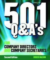 501 Questions and Answers for Company Secretaries and Company Directors (Spiral bound)