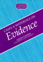 Cases and Materials on Evidence (Paperback)