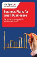 Startups: Business Plans for Small Businesses - Startups (Paperback)