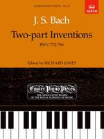 Two-part Inventions, BWV 772-786: Easier Piano Pieces 33 - Easier Piano Pieces (ABRSM) (Sheet music)
