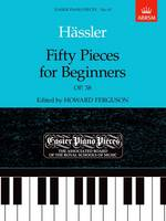 Fifty Pieces for Beginners, Op.38: Easier Piano Pieces 65 - Easier Piano Pieces (ABRSM) (Sheet music)