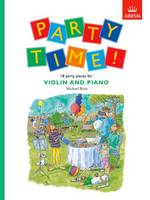 Party Time! 18 party pieces for violin and piano (Sheet music)