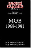 MGB 1968-1981 Owner's Workshop Manual (Paperback)