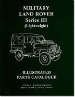 Military Land Rover Series III (lightweight) Parts Catalogue (Paperback)