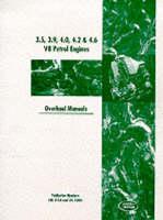 Land Rover 3.5, 3.9, 4.0, 4.2, 4.6 V8 Petrol Engines: Overhaul Manuals (Paperback)