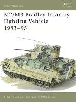 M2/M3 Bradley: Infantry/Cavalry Fighting Vehicle, 1981-96 - Osprey New Vanguard S. No. 18 (Paperback)