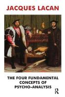 The Four Fundamental Concepts of Psycho-Analysis (Paperback)